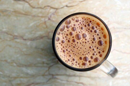 Chai  First sip
