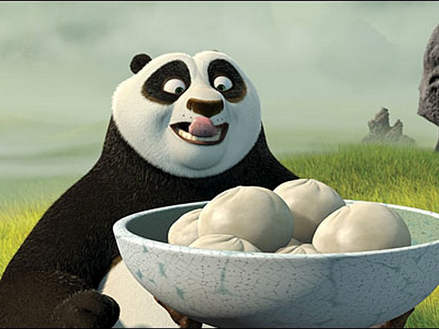 Foodie Cartoon Characters| Kung Fu Panda| Dumplings