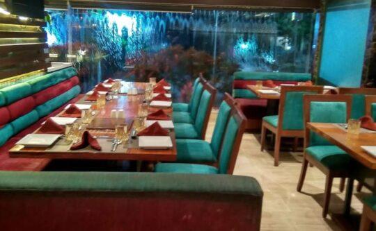 eateries for North Indian food| Saffron restaurant