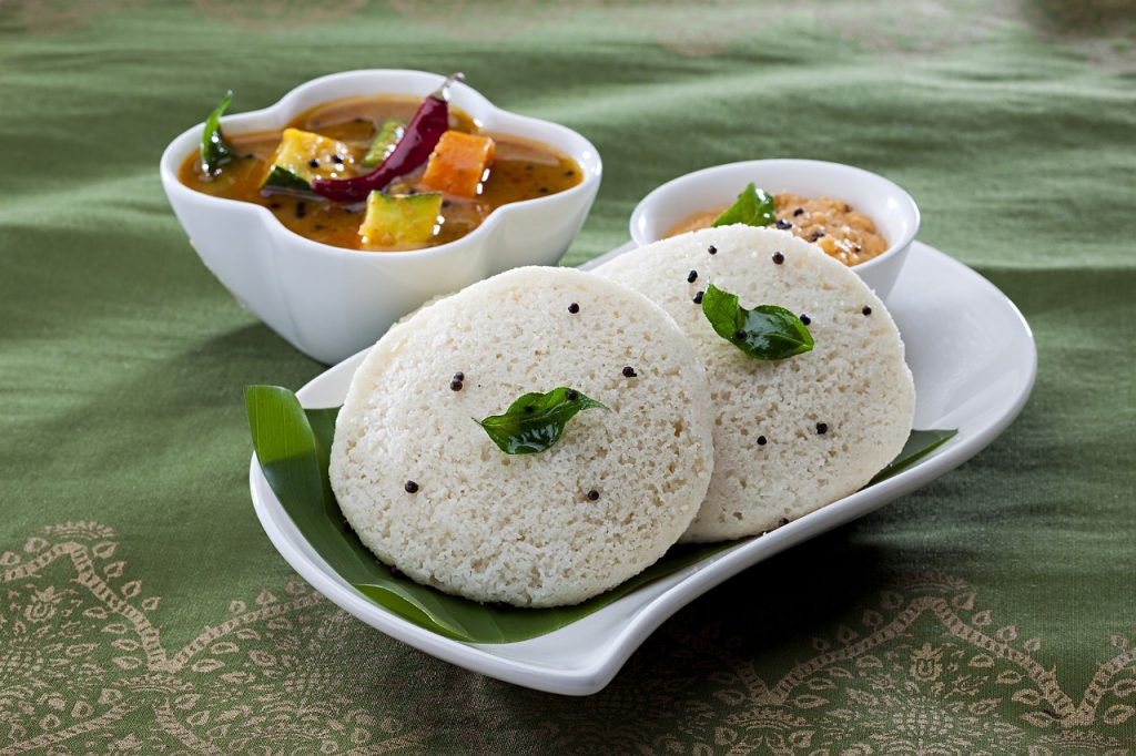 South Indian food dishes
