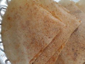 Dosa Khakhra   Fusion Dishes   Flavoured Khakhra   south indian cuisine  gujarati cuisine
