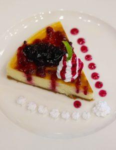 Blueberry Cheese Cake   The Esplendido Cafe