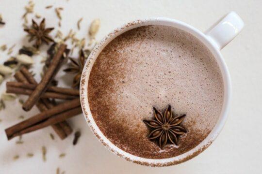 various winter teas  Chocolate chai