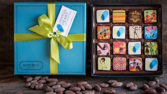 The Costliest Chocolates You'll Ever Come Across| Ganache cien blue box