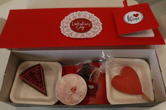 valentine's hamper from melt in| Hamper box