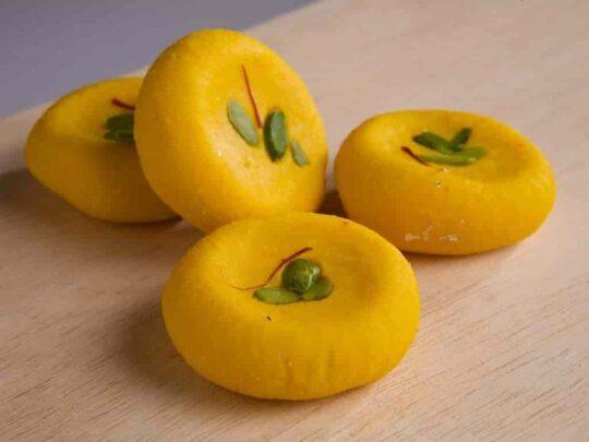 Holi Special Foods| Ahmedabad| Kesar malai peda