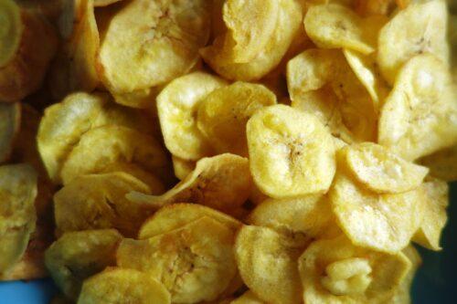 yummy dry snacks| Banana chips