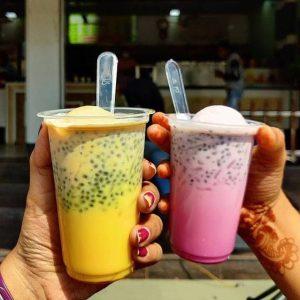 Summer Drinks in Ahmedabad  Rose Falooda  Astodia Juice Corner