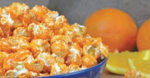Different Types of Popcorn  Orange