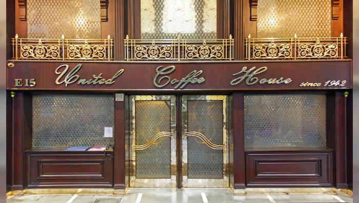 EveryIndia's Oldest Restaurants| United Coffee House