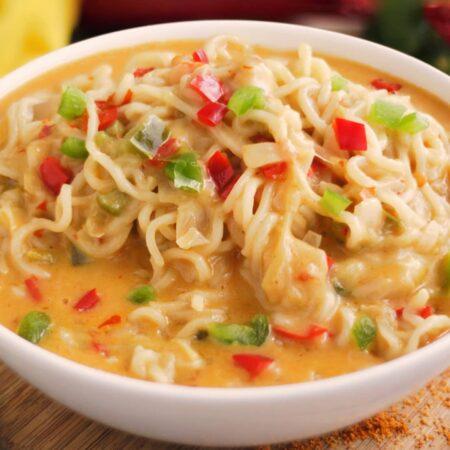 Yummy culinary dishes  Lemony maggi noodles